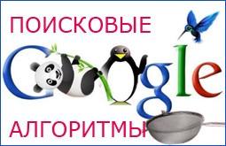 Фильтры Гугла: Панда, Пингвин, Колибри и другие