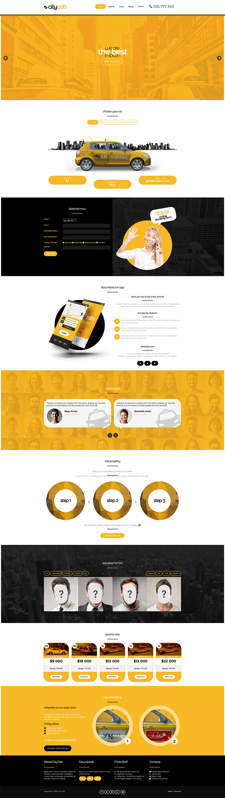 сайт такси киев